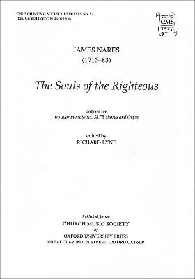 The Souls of the Righteous: Vocal Score