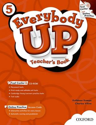 Everybody Up: 5: Teacher's Book with Test Center CD-ROM