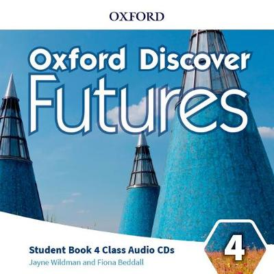 Oxford Discover Futures: Level 4: Class Audio CDs