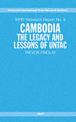Cambodia: The Legacy and Lessons of UNTAC