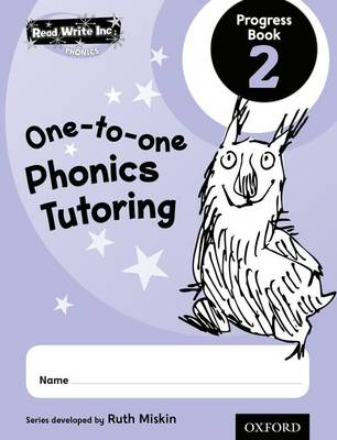 Read Write Inc.: Phonics One-to-One Phonics Tutoring Progress Book 2 Pack of 5