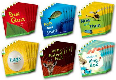 Oxford Reading Tree: Stage 2: Floppy's Phonics Non-fiction: Class Pack of 36