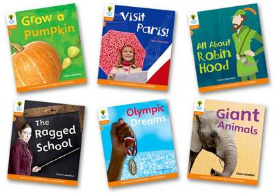 Oxford Reading Tree: Stage 6: Floppy's Phonics Non-fiction: Pack of 6