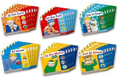 Oxford Reading Tree: Stage 1: Floppy's Phonics: Sounds and Letters: Class Pack of 36