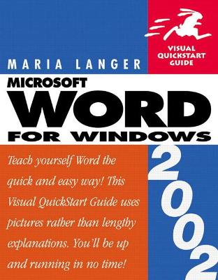Word 2002 for Windows: Visual QuickStart Guide