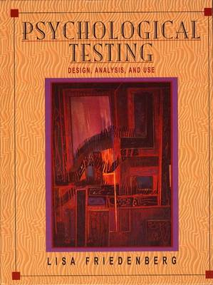 Psychological Testing: Design, Analysis, and Use