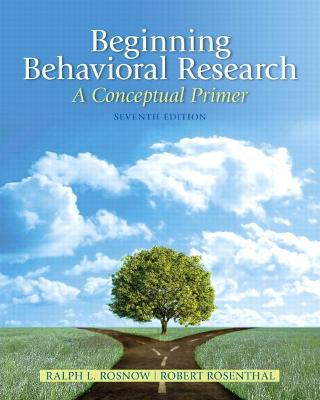 Beginning Behavioral Research: A Conceptual Primer: United States Edition