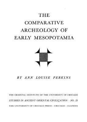 The Comparative Archaeology of Early Mesopotamia