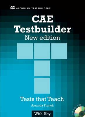 New CAE Testbuilder Student Book and audio CD pack with Key