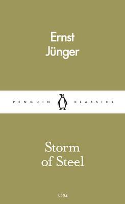 ernst junger storm of steel summary