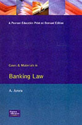 Cases & Materials In Banking Law