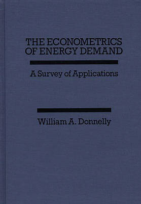 The Econometrics of Energy Demand: A Survey of Applications