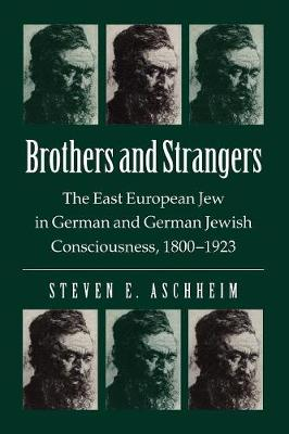 Brothers and Strangers: East European Jew in German and German Jewish Consciousness, 1800-1923