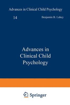Advances in Clinical Child Psychology: v. 14