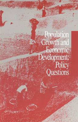 Population Growth and Economic Development: Policy Questions