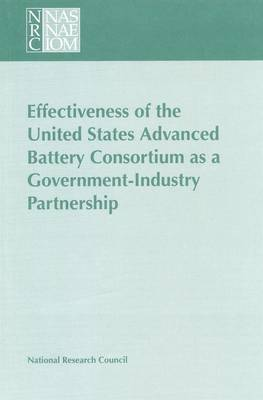 Effectiveness of the United States Advanced Battery Consortium as a Government-Industry Partnership