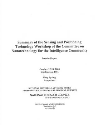 Summary of the Sensing and Positioning Technology Workshop of the Committee on Nanotechnology for the Intelligence Community: Interim Report