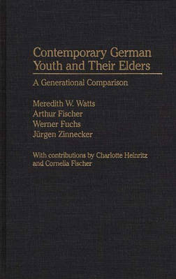 Contemporary German Youth and Their Elders: A Generational Comparison