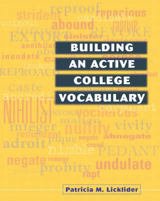 Building an Active College Vocabulary