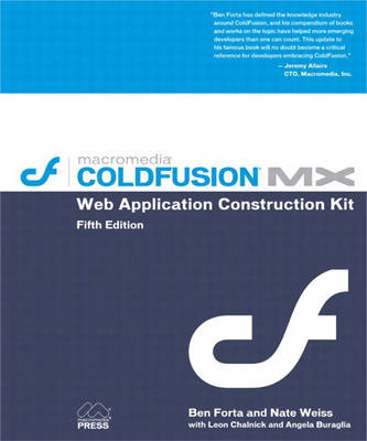 ColdFusion MX Web Application Construction Kit