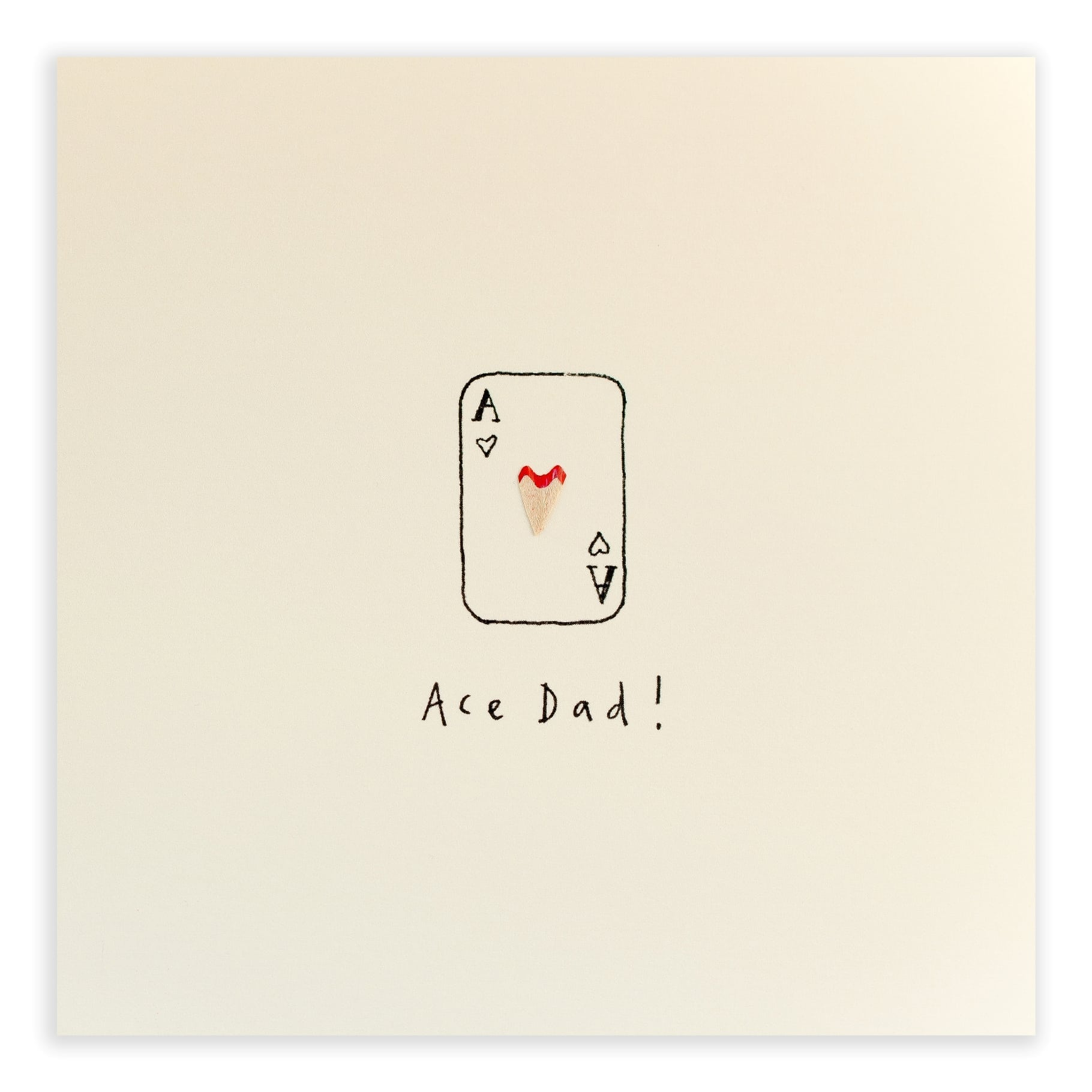 Ace Dad Greeting Card