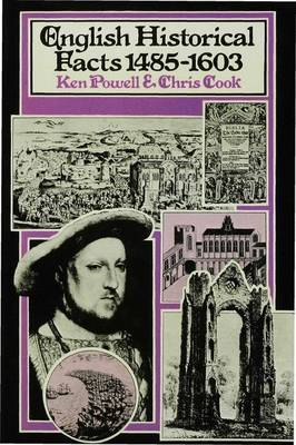 English Historical Facts 1485-1603