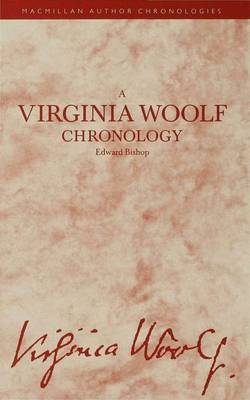 A Virginia Woolf Chronology