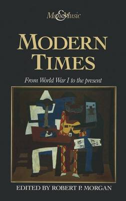 Modern Times: From World War I to the Present