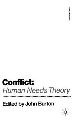 Conflict: Human Needs Theory