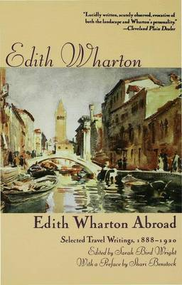 Edith Wharton's Travel Writing: The Making of a Connoisseur