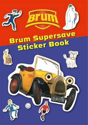 Brum Supersave Sticker Book