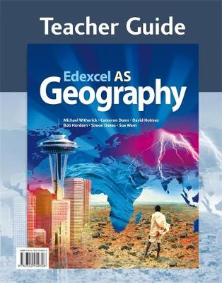 Edexcel AS Geography Teacher Guide (+CD)