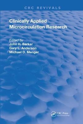Clinically Applied Microcirculation Research