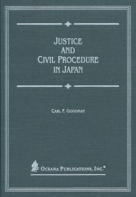 Justice and Civil Procedure in Japan