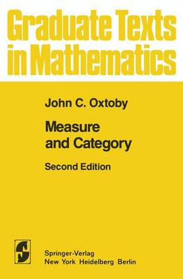 Measure and Category: A Survey of the Analogies between Topological and Measure Spaces