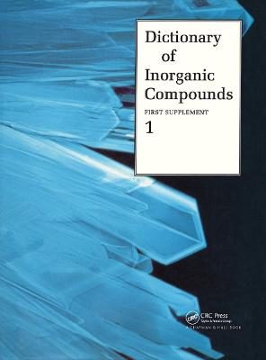 Dictionary of Inorganic Compounds, Supplement 1