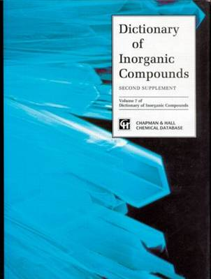 Dictionary of Inorganic Compounds, Supplement 2