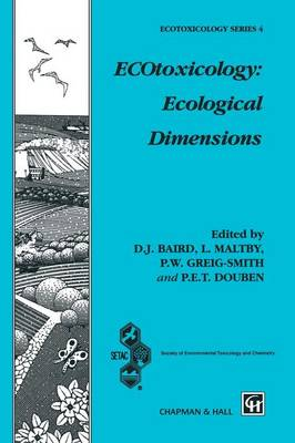 ECOtoxicology: Ecological Dimensions
