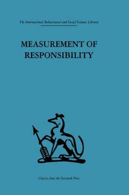 Measurement of Responsibility: A study of work, payment, and individual capacity