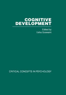 Cognitive Development: Critical Concepts in Psychology