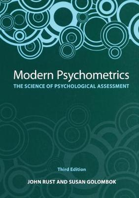 Modern Psychometrics, Third Edition: The Science of Psychological Assessment