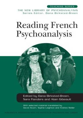 Reading French Psychoanalysis