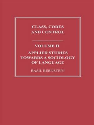 Applied Studies Towards a Sociology of Language