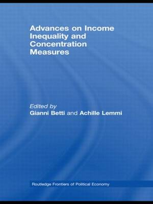 Advances on Income Inequality and Concentration Measures