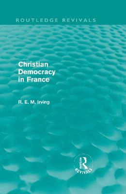 Christian Democracy in France