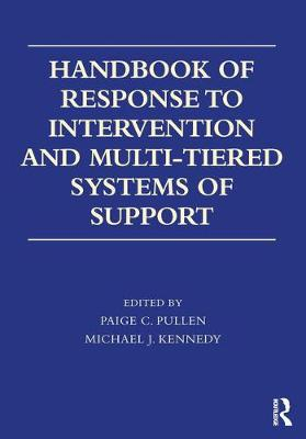Handbook of Response to Intervention and Multi-Tiered Systems of Support