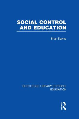 Social Control and Education
