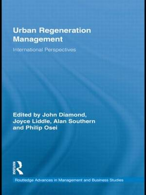 Urban Regeneration Management: International Perspectives