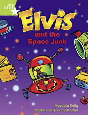 Rigby Star Guided Green Level Opportunity Readers: Elvis & the Space Junk
