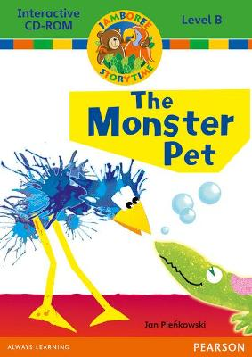 Jamboree Storytime Level B: The Monster Pet Interactive CD-ROM